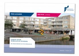 """Brochure """"Integrale aanpak Winkelcentrum Zevenkamp"""""""