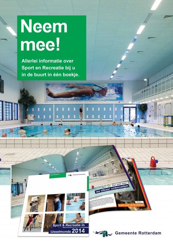 """Poster """"Sport en recreatie in IJsselmonde"""""""