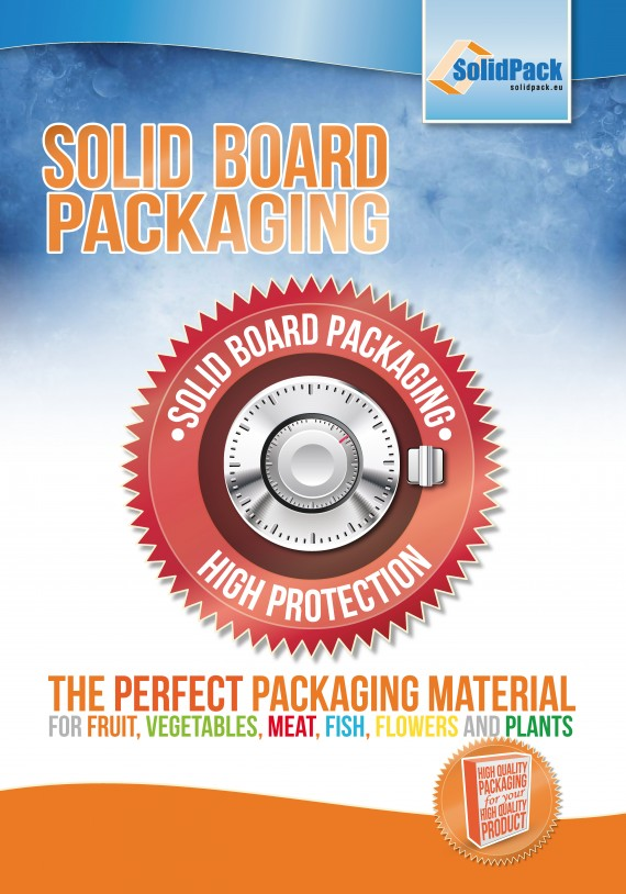"""6 posters """"Solid Board Packaging"""""""