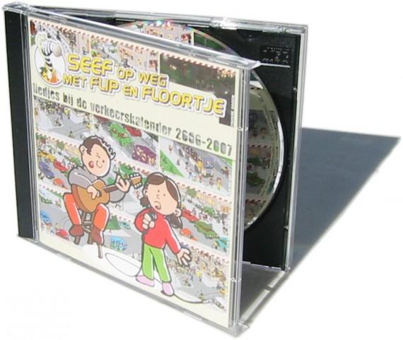 "CD en CD-Hoes ""SEEF op weg met FLIP en FLOORTJE"""